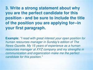 Ideal Candidate For This Position Examples A Letter Of Application By Mazenceva 1071 1