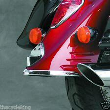 honda vt  shadow aero chrome rear fender tip trailing edge fits    vehicle