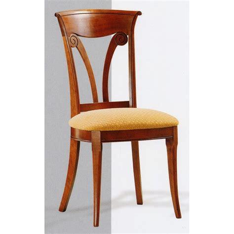 chaise directoire chaise directoire n 1 en merisier meubles de normandie