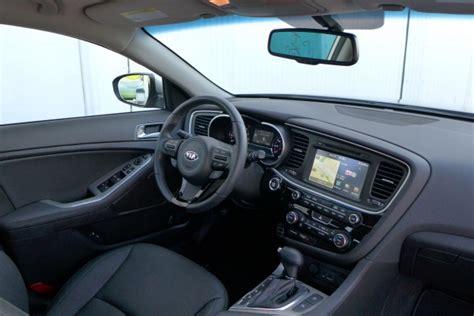 kia optima sx  optima interior automobiles