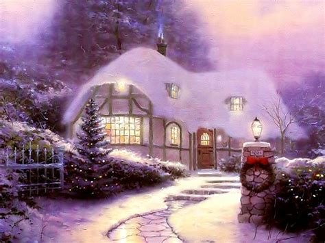 christmas house country home architecture houses hd