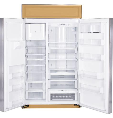 ziswdr ge monogram  built  side  side refrigerator  dispenser monogram appliances