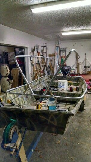 How To Make A Boat Go Forward by Scissor Blind Build Conduit Frame Duck Boat