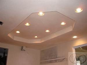 Recessed lighting in kitchen replace fluorescent