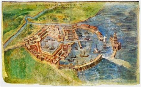 animations present ostia antica  harbor city