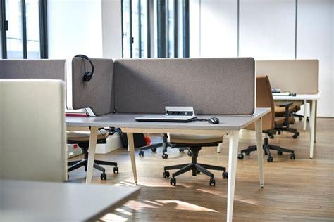 poste de travail bureau bench et bureaux partagés materic agencement et