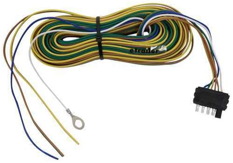 Wishbone Wire Harnes by 40 Ft 5 Way Trailer Wiring Harness Wishbone Style 30