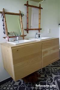 Salle de bain ecologique fabriquer un meuble de salle de bain for Meuble salle de bain ecologique