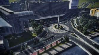 berlin hauptbahnhof post berlin hauptbahnhof roundabout citiesskylines