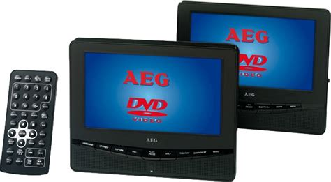 auto dvd player 2 monitore tragbarer auto dvd player 2 monitore fb aeg dvd 4549 ebay