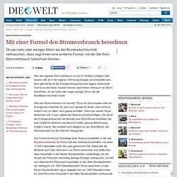 Verbrauch Strom Berechnen : haushalt pearltrees ~ Themetempest.com Abrechnung