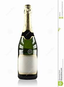 Expensive Champagne Bottle (Clipping Path) Stock Image ...