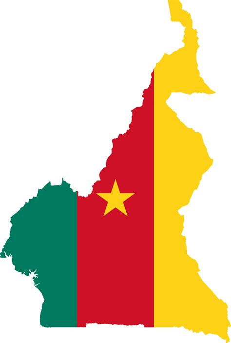 File:Flag-map of Cameroon.svg - Wikimedia Commons