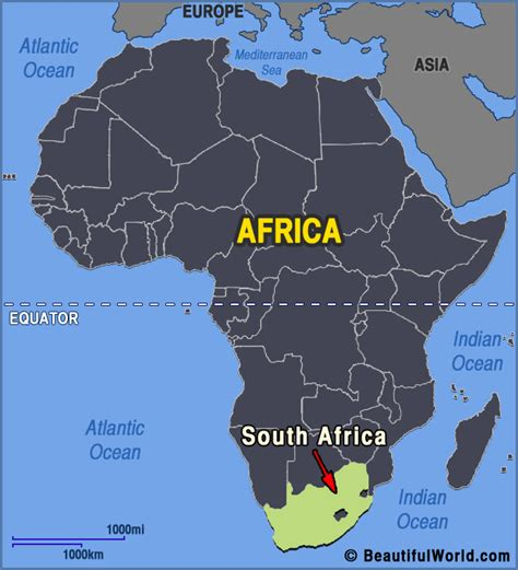 map  south africa facts information beautiful