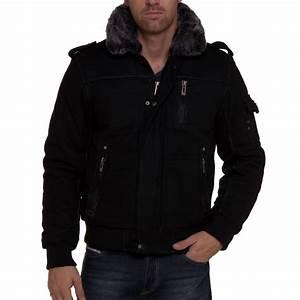 Blouson Col Fourrure Homme : blouson homme avec col fourrure fashion ~ Dode.kayakingforconservation.com Idées de Décoration