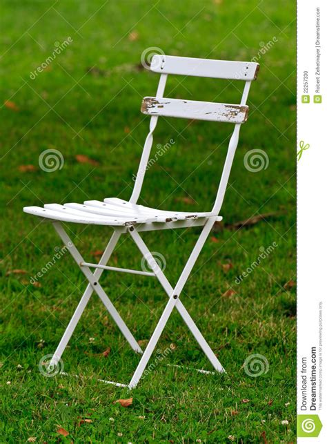 white wooden garden chair stock photo image 22257330