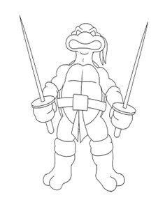 88 Best Ninja Turtles Coloring Pages images Ninja turtle