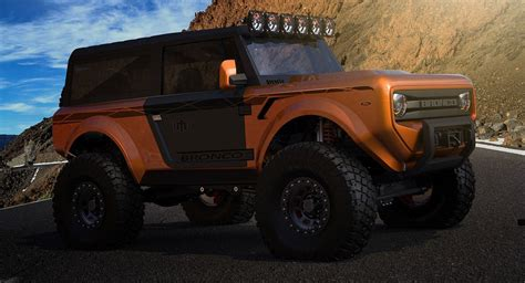 ford jeep 2020 2020 ford bronco might out box the jeep wrangler carscoops