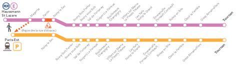 rer e travaux du 1e au 5 juillet 2013