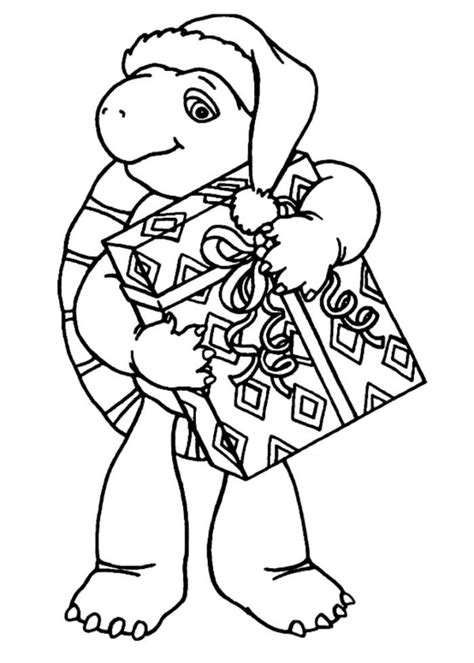 ninja turtles christmas coloring pages coloring home