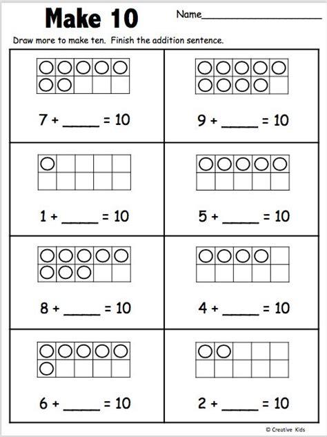 lets    kindergarten worksheet kindergarten