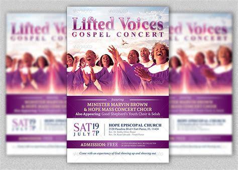Concert flyer template free costumepartyrun sample invitation gospel concert images invitation stopboris Gallery