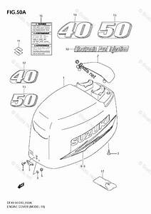 Suzuki Outboard Parts By Model Df 40 Oem Parts Diagram For