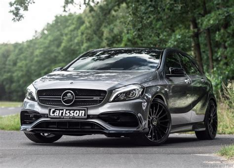 mercedes amg a45 carlsson tunes up the mercedes amg a45 4matic drive safe and fast