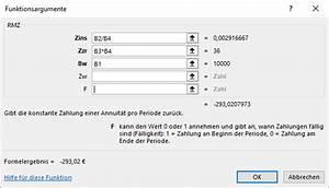 Zins Berechnen Formel : mit excel zins und tilgungszahlungen berechnen it service ruhr ~ Themetempest.com Abrechnung