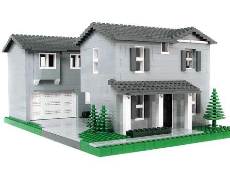 Moderne Lego Häuser by Grey House Lego Lego Lego House Lego Projects