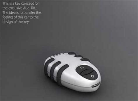 Stabfree Car Key Concept Stylish Audiinspired Key Fob