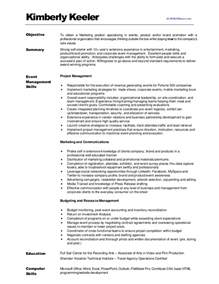 resumes for a marketing kimberlykeeler marketing resume 2012