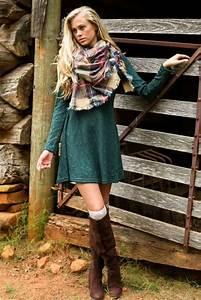 25 Stunning Sweater Dress Outfit Ideas - SheIdeas