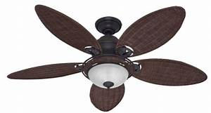 Tropical ceiling fans every