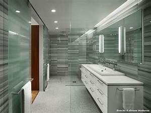 Photo Salle De Bain Moderne : douche italienne moderne with contemporain salle de bain ~ Premium-room.com Idées de Décoration