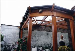 realisations d39abris pergolas bow window kiosques sas With abri pour porte d entrée