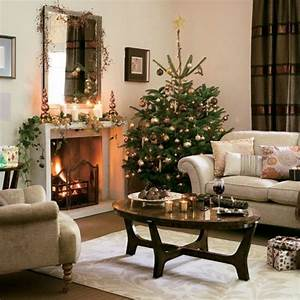Idées déco Noël intéressantes pour la salle de séjour
