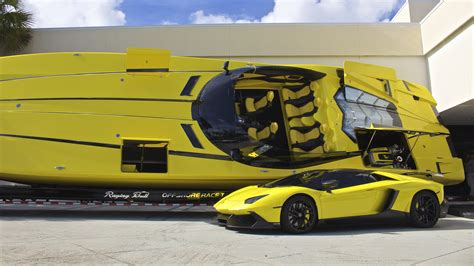 Lamborghini And Boat by Go For A Ride In The All Bad Ss 2700hp Quot Lamborghini Boat Quot