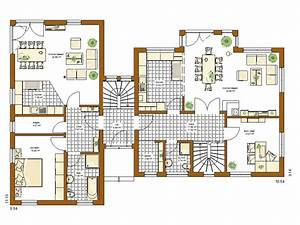 Bauen Zweifamilienhaus Grundriss : stadtvilla atlanta grundriss erdgeschoss haus ~ Lizthompson.info Haus und Dekorationen