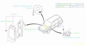 Subaru Forester Abs Control Module  Ecu Vdc And Bracket U4