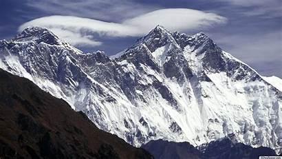 Everest Mount Wallpapers Desktop Mt Nature Following