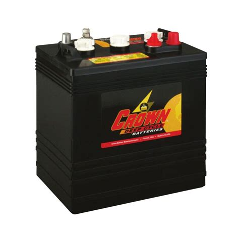 crown cr 260 6v 260ah deep cycle battery from 163 239 99 ex vat buy online from the battery shop