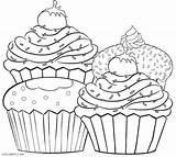 Muffin Coloring Blueberry Pages Drawing Printable Getdrawings Getcolorings sketch template