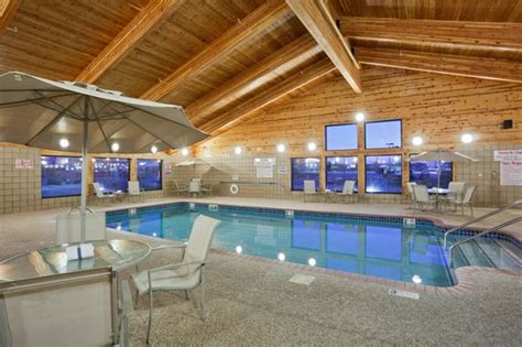 enjoy  large indoor swimming pool hot tub  fitness