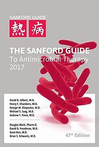 The Sanford Guide To Antimicrobial Therapy 2017 Buy
