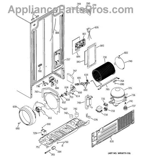 Appliance Cord Wiring Diagram by Ge Wr23x10300 Power Cord Assembly Appliancepartspros