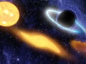 NASA - Black Hole Grabs Starry Snack