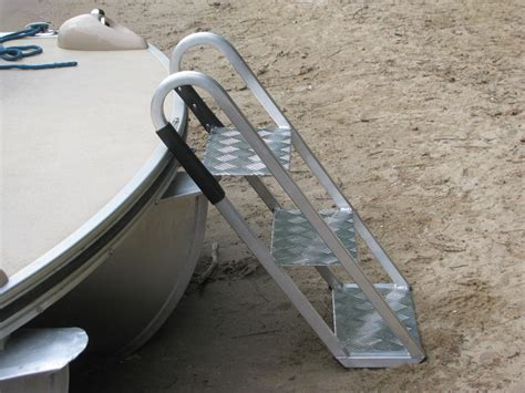aqua patio pontoon ladder pontoon boat ladders front boaring pontoon ladder aqua