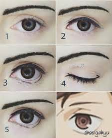 anime eyeliner 30 best costume stage make up anime images on