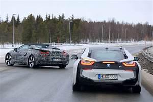 BMW i8 Spyder First Spy Shots GTspirit